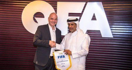الفيفا يدرس إشراك الكويت وسلطنة عمان في مونديال 2022