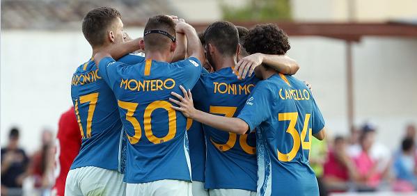أتليتكو مدريد يفوز بثلاثية بأولى مبارياته الودية