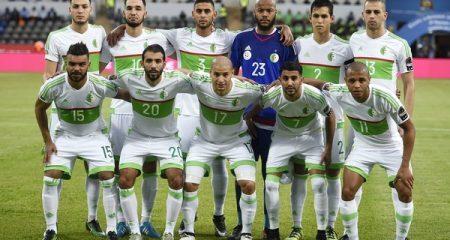 التشكيلة الرسمية للجزائر أمام غينيا