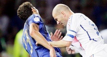 ماتيراتزي يُهاجم الإيطاليين بسبب لقطة زيدان
