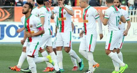 مولودية الجزائر يتفوق على الإفريقي في ذهاب ربع نهائي الكونفدرالية