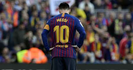 غياب ميسي مستمر عن تدريبات برشلونة