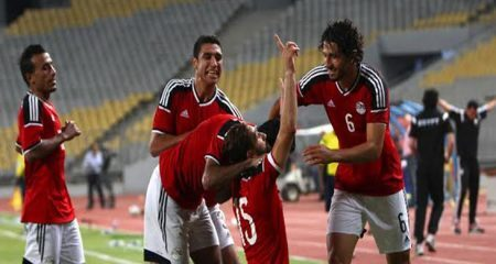 منتخب مصر يسحق تشاد في تصفيات كأس أمم أفريقيا